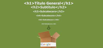 Cómo utilizar correctamente las etiquetas H1, H2 y H3 para el SEO