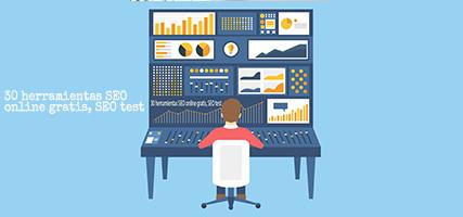 herramientas SEO, online gratis, SEO test